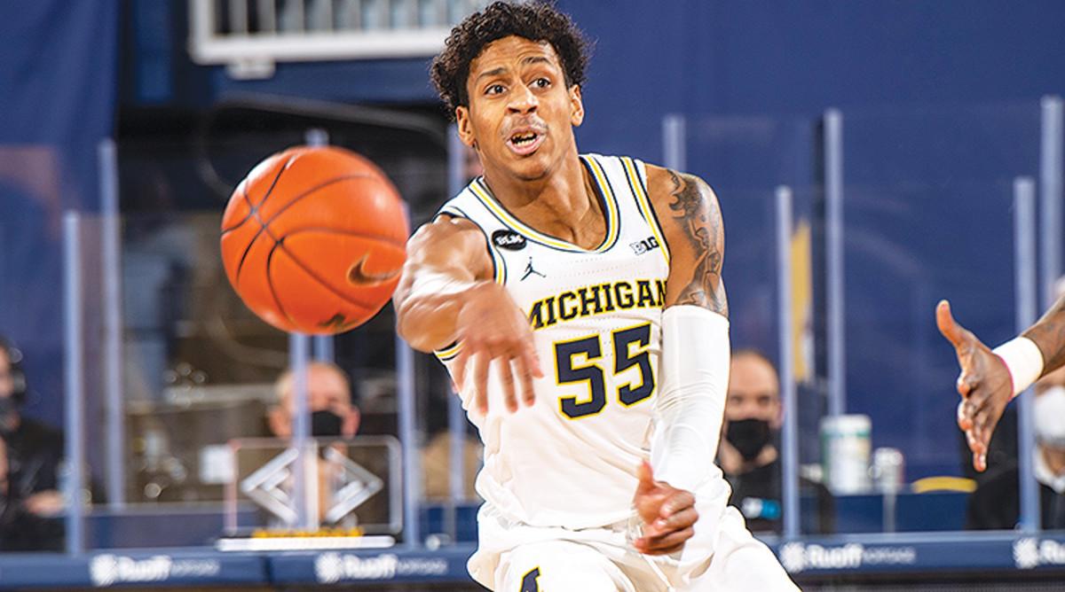 Eli Brooks, Michigan Wolverines Basketball