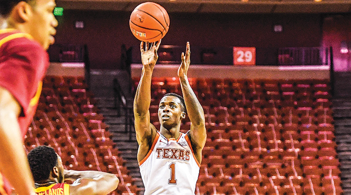 Andrew Jones, Texas Longhorns Basketball