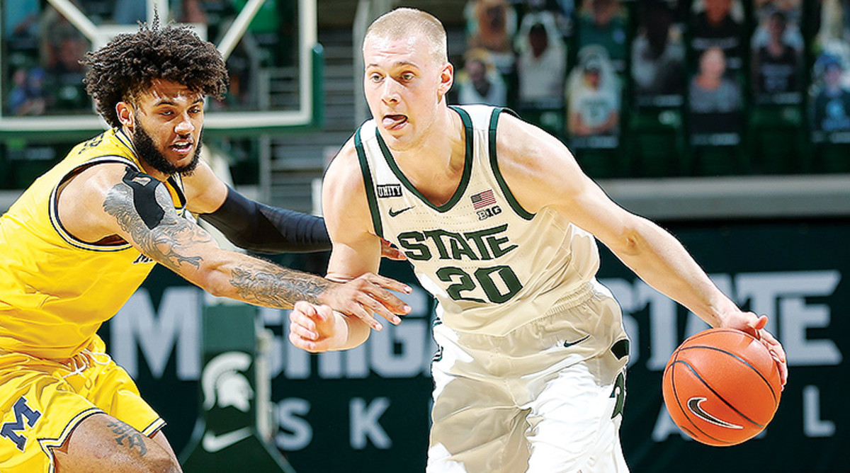 Joey Hauser, Michigan State Spartans Basketball