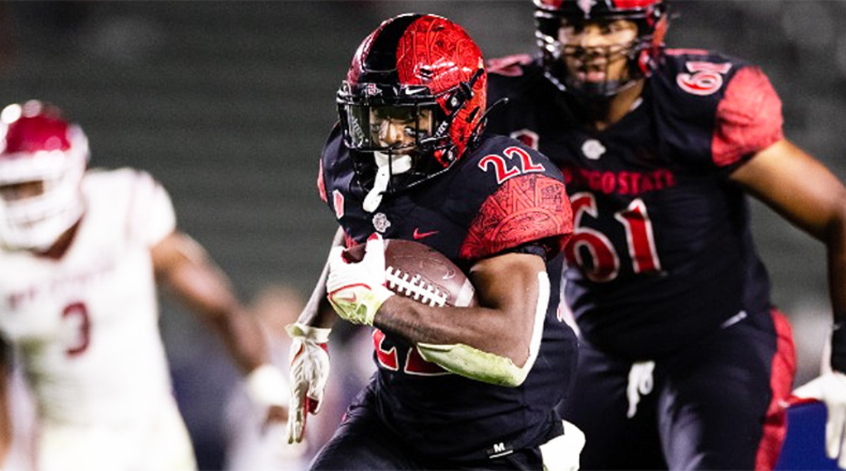 Greg Bell and the Aztecs look for a second win over a Pac-12 team when they host the Utes on Saturday night